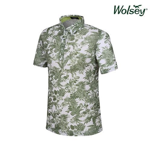 여름 남성 반팔 티셔츠 W62MTP790GN