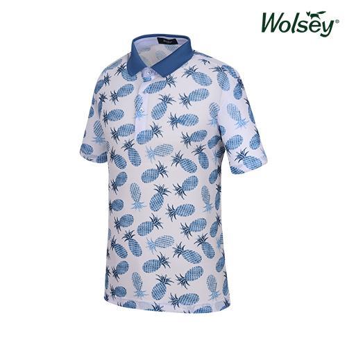 여름 남성 반팔 티셔츠 W62MTP800BL