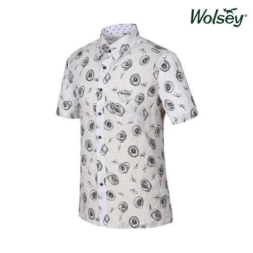 여름 남성 반팔 셔츠 W62MWP610IV