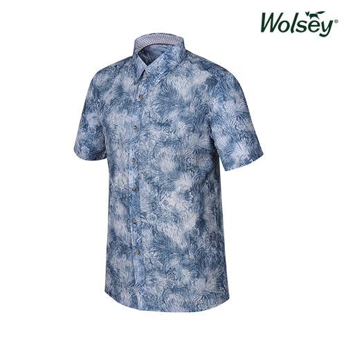 여름 남성 반팔 셔츠 W62MWP52RBL
