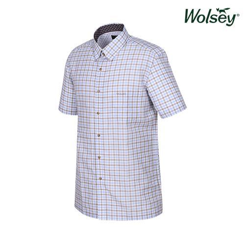 여름 남성 반팔 셔츠 W62MWC570BL
