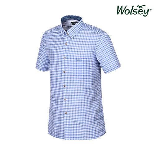 여름 남성 반팔 셔츠 W62MWC560BL