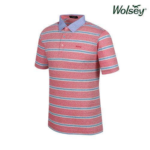 여름 남성 반팔 티셔츠 W62MTJ580RD