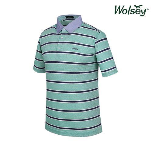 여름 남성 반팔 티셔츠 W62MTJ580GN
