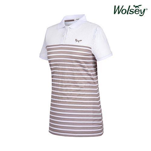 여름 여성 반팔 티셔츠 W62LTJ680BE