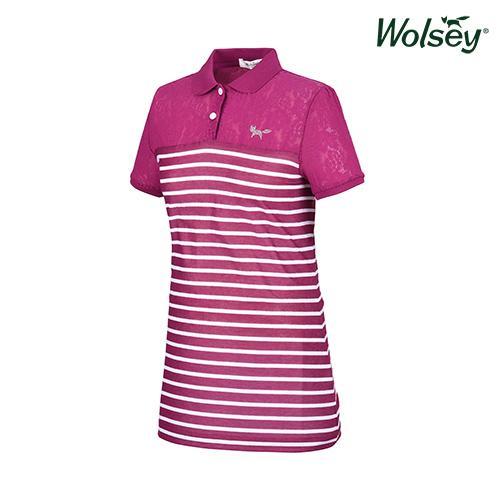 여름 여성 반팔 티셔츠 W62LTJ680PP