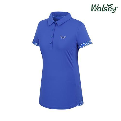 여름 여성 반팔 티셔츠 W62LTL89DBL