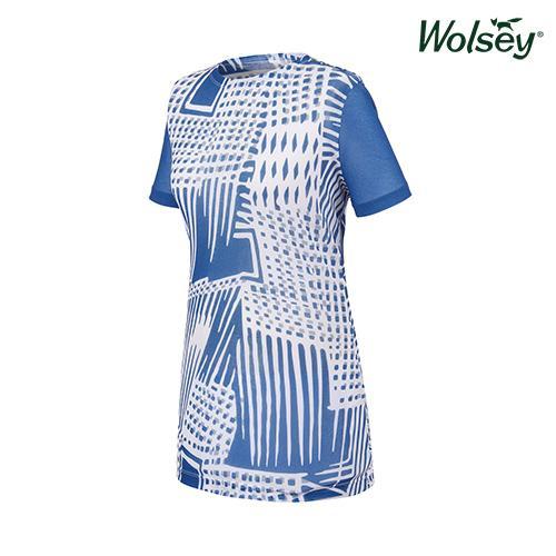 여름 여성 반팔 티셔츠 W62LTR981BL