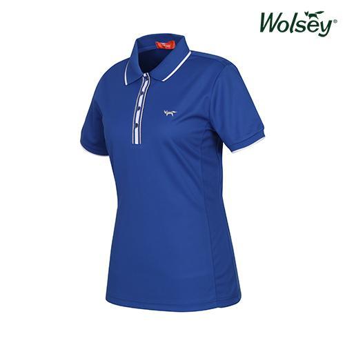 여름 여성 반팔 티셔츠 W52LTS53DBL