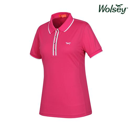 여름 여성 반팔 티셔츠 W52LTS53DPK