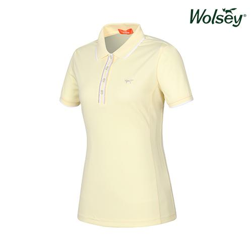 여름 여성 반팔 티셔츠 W52LTS53DYE