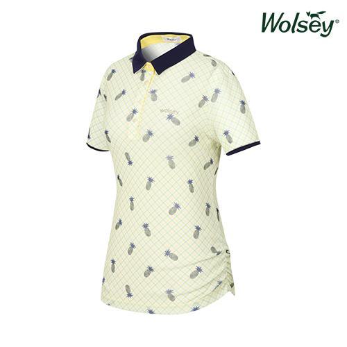 여름 여성 반팔 티셔츠 W62LTP750YE
