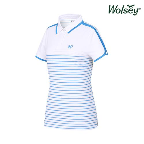 여름 여성 반팔 티셔츠 W62LTJ66DBL