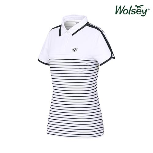 여름 여성 반팔 티셔츠 W62LTJ66DBK