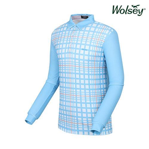 남성 긴팔 티셔츠 W61MTP360BL