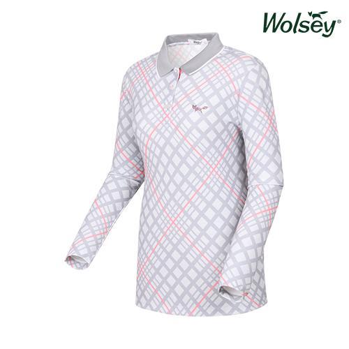 여성 긴팔 티셔츠 W61LTP420GR