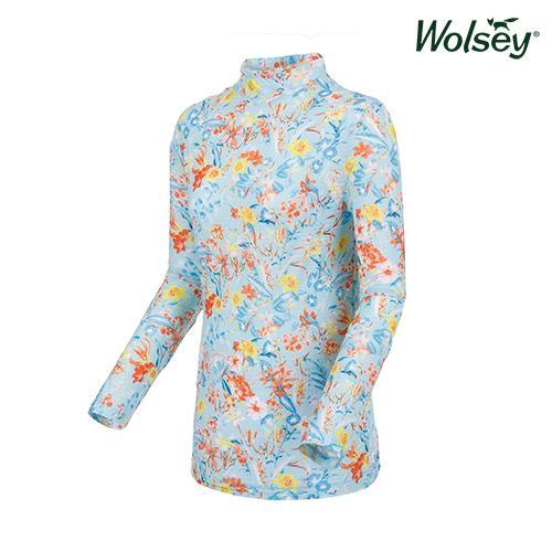 여름 여성 냉감 긴팔 티셔츠 W62LTP950MT