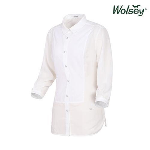 여름 여성 셔츠 W62LWS890WT