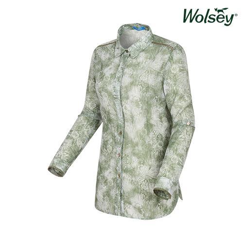 여름 여성 플라워 셔츠 W62LWP82RGN