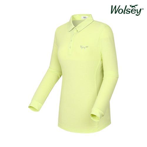 여성 긴팔 티셔츠 W61LTS220LG