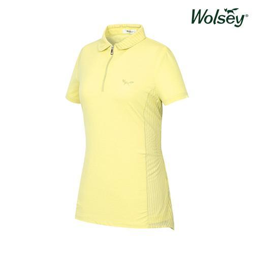 여름 여성 반집업 반팔 티셔츠 W62LTS550YE
