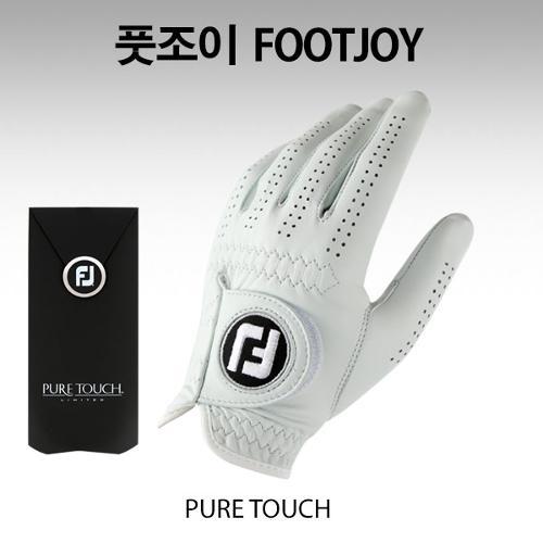 [풋조이] 퓨어터치 PURE TOUCH 양피 골프장갑