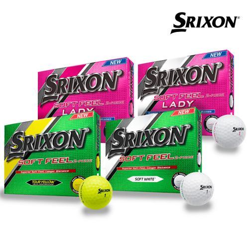 던롭 스릭슨 SRIXON 소프트 필 골프공 (12알/2피스) 남성/여성/골프용품