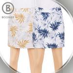 보그너 BOGNER 여성 스판소재 트로피컬 패턴포인트 큐롯 치마/스커트 - BN-01-172-205-04
