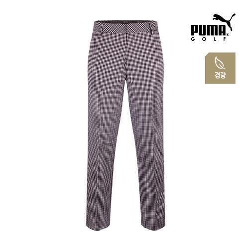 [푸마골프] 남성 플래드 패턴 경량 팬츠 571524-01_GA
