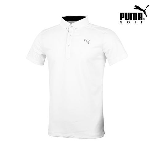 [푸마골프] 남성 솔리드 반팔 티셔츠 923320-05_GA