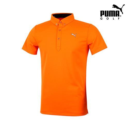 [푸마골프] 남성 솔리드 반팔 티셔츠 923320-04_GA