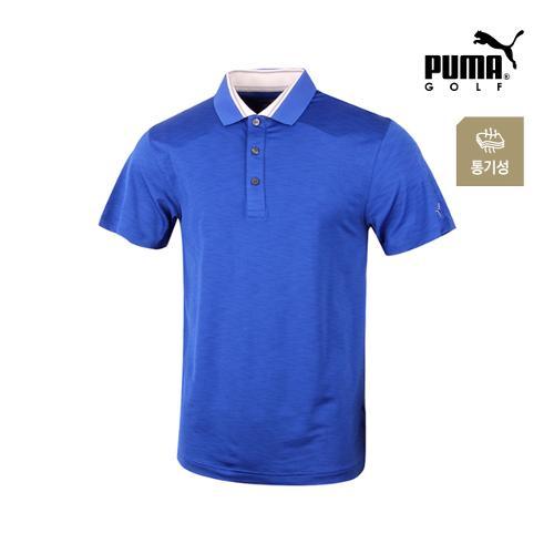 [푸마골프] 남성 흡한속건 반팔 티셔츠 571497-02_GA