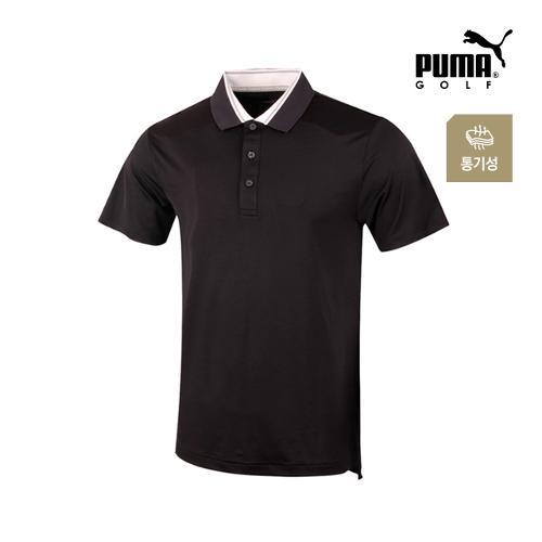 [푸마골프] 남성 흡한속건 반팔 티셔츠 571497-01_GA