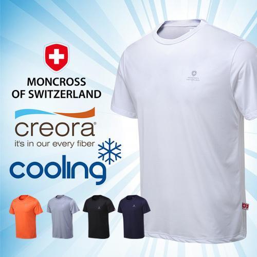 몽크로스 17년 효성 크레오라 기능성 냉감 라이트 V넥/라운드 티셔츠