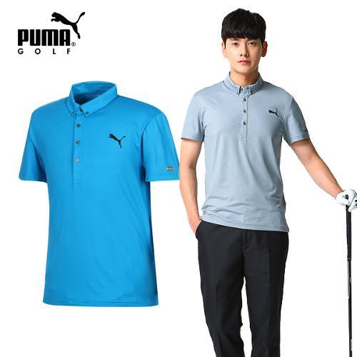 [푸마골프] 남성 SPORTLUX 반팔 티셔츠 2종