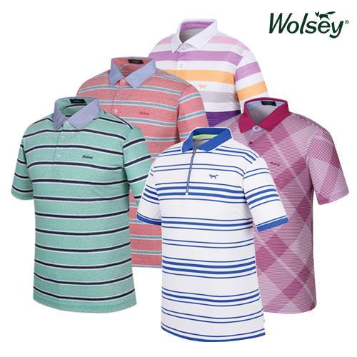 울시(wolsey) 남성 골프 반팔티셔츠 10종 택1