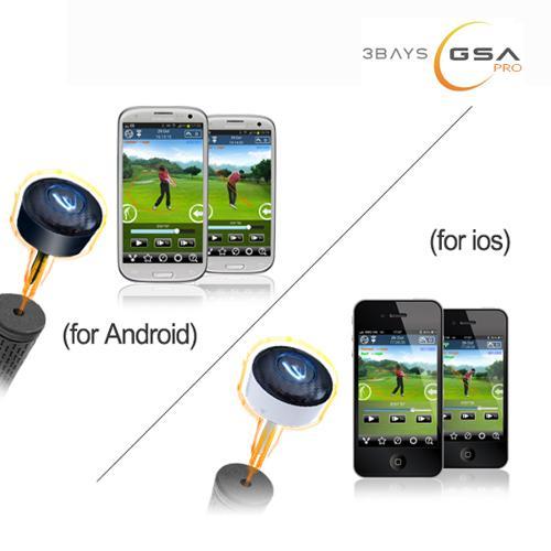 3BAYS GSA 초경량 골프스윙분석기/골프연습용품/골프용품