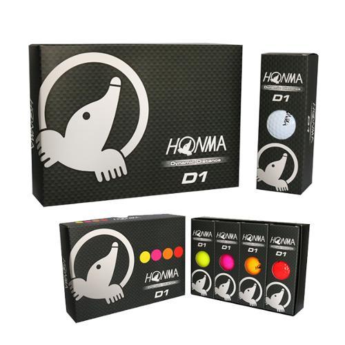 혼마골프정품 HONMA D1 2피스 골프공(화이트)