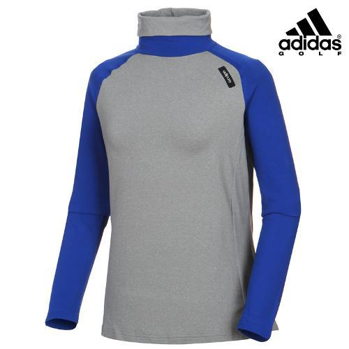 [아디다스골프] 여성 배색 터틀넥 티셔츠 Z98372_GA