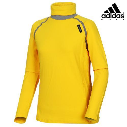 [아디다스골프] 여성 배색 터틀넥 티셔츠 Z98371_GA