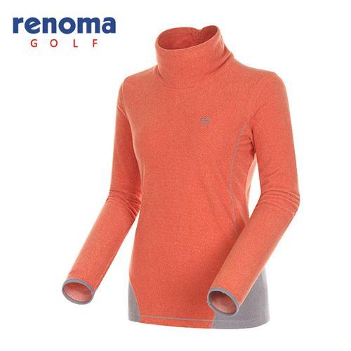 [레노마골프]여성 패널 라인 하이넥 티셔츠 RATS76461-OR