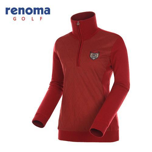 [레노마골프]여성 방풍 스웨이드 패딩 티셔츠 RAKP74461-DR