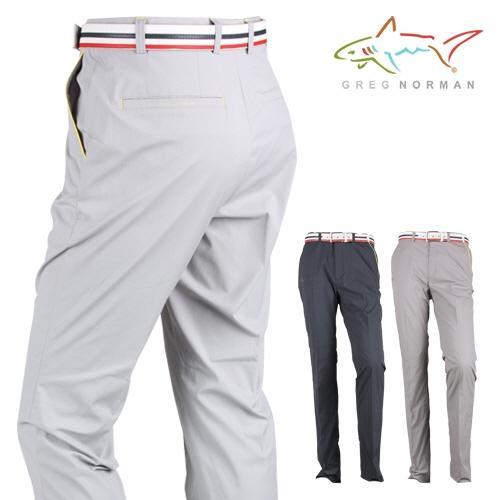 그렉노먼 남성 포켓 라인 배색 골프 바지 GMG15PT725