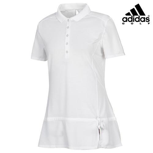 [아디다스골프] 여성 플레어 롱 카라 티셔츠 B82712_GA
