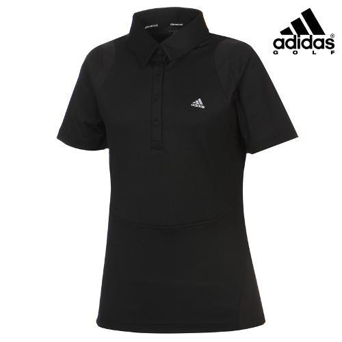 [아디다스골프] 여성 절개패턴 카라넥 티셔츠 Z98982_GA