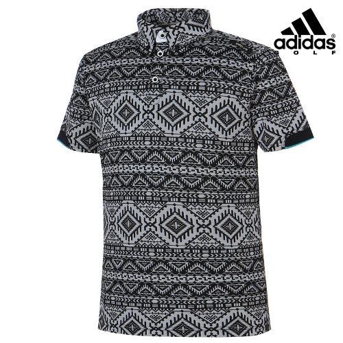 [아디다스골프] 남성 에스닉 패턴 카라티셔츠 A04253_GA