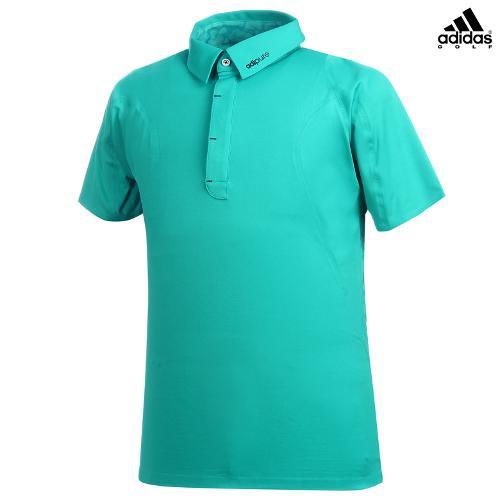 [아디다스골프] 남성 레터링 카라 티셔츠 B87007_GA