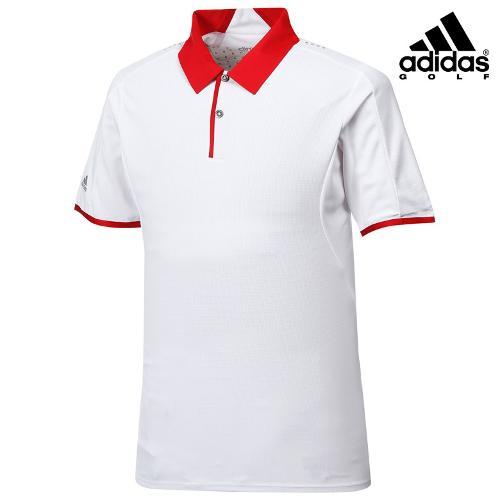 [아디다스골프] 남성 카라 배색 캐주얼 티셔츠 B88261_GA