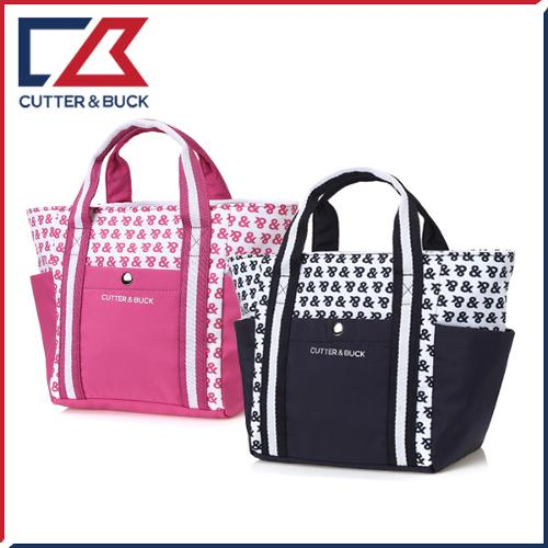 커터앤벅 여성 투톤 배색 패턴포인트 미니백/파우치백 - 14-175-217-81