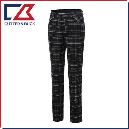 커터앤벅 여성 스판소재 체크무늬 골프바지/팬츠 - SL-11-154-204-22